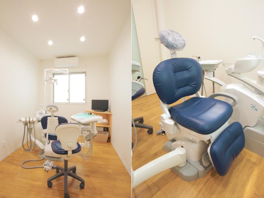 個室の診察室
